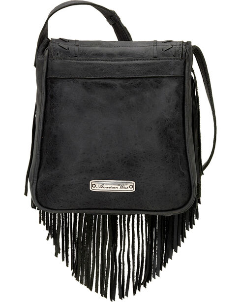 American West Leather Seminole Crossbody, , hi-res