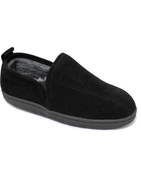 Lamo Men's Romeo Slippers , Black, hi-res