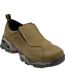 Nautilus Men's Slip-On Steel Toe ESD Work Shoes, , hi-res