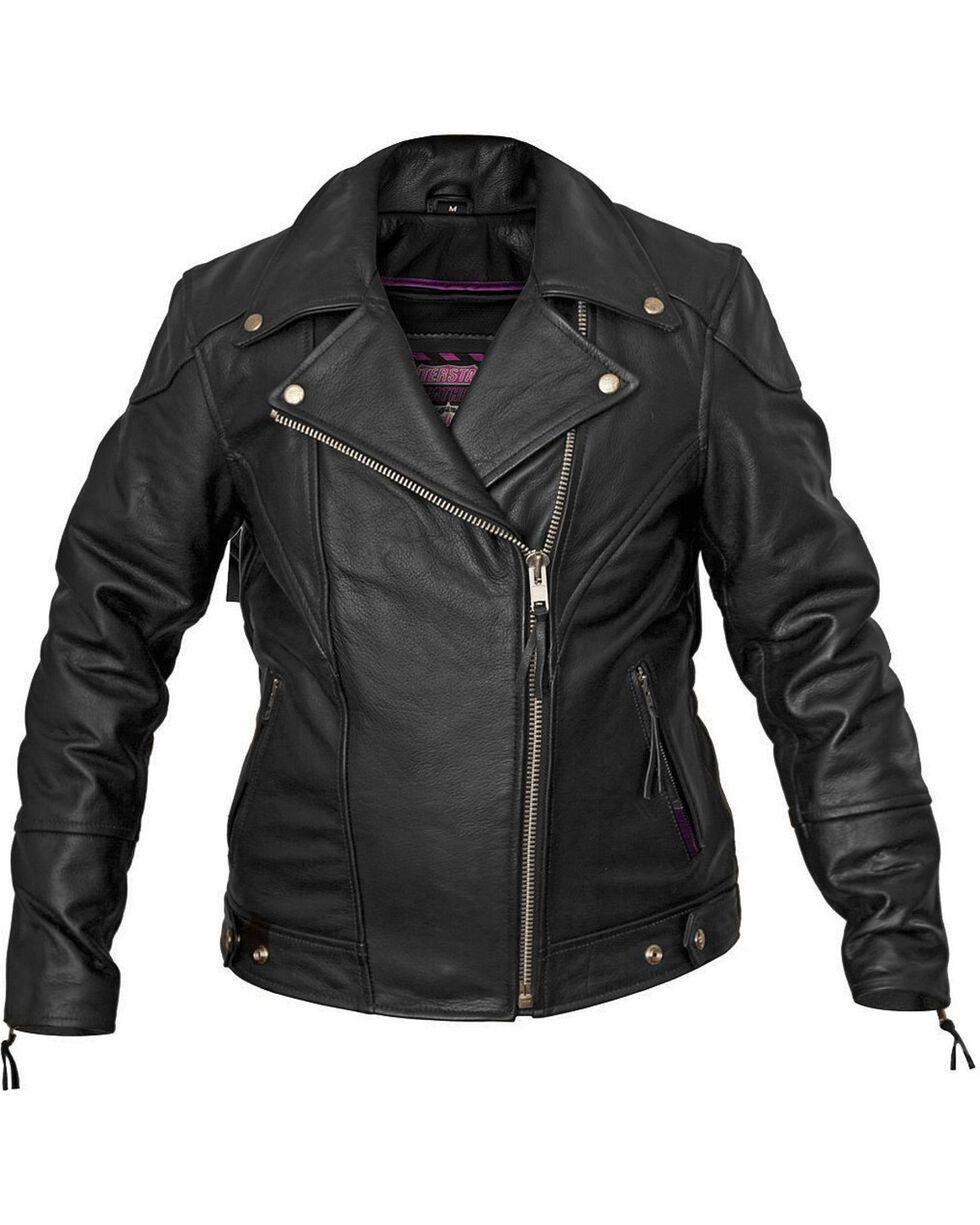 Interstate Leather Classic Jacket - Reg, , hi-res