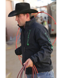 Cinch Black Logo Carry and Conceal Jacket, , hi-res