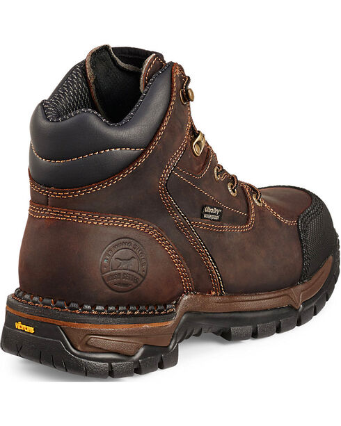 Red Wing Irish Setter Women's Two Harbors Hiker Work Boots - Aluminum Toe , Brown, hi-res