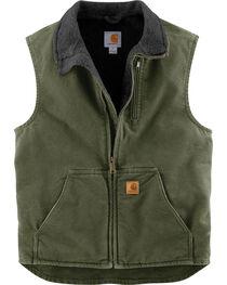 Carhartt Men's Sandstone Mock-Neck Vest , , hi-res