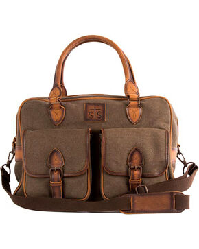 STS Ranchwear Foreman Weekender Bag, Brown, hi-res