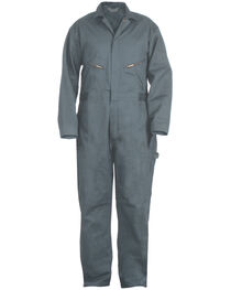 Berne Deluxe Unlined Coveralls - Tall Sizes, Blue, hi-res