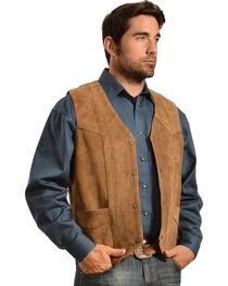 Liberty Wear Men's Suede Western Vest, , hi-res