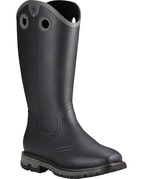 Ariat Men's Conquest Rubber Buckaroo Insulated Hunting Boots, , hi-res