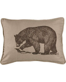 HiEnd Accents Printed Walking Bear Pillow, , hi-res