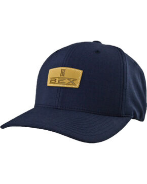 BEX Men's Sherrick Logo Ball Cap, Navy, hi-res