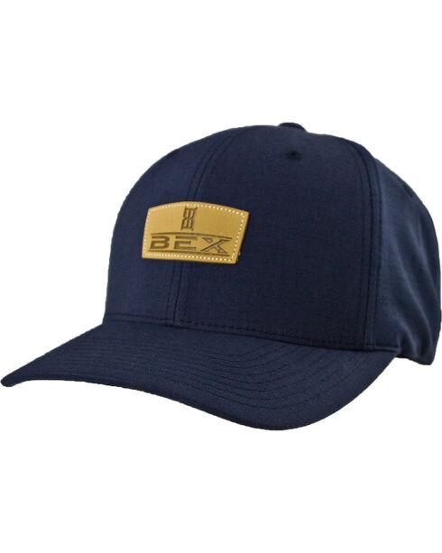 BEX Men's Sherrick Logo Ball Cap, Navy, hi-res
