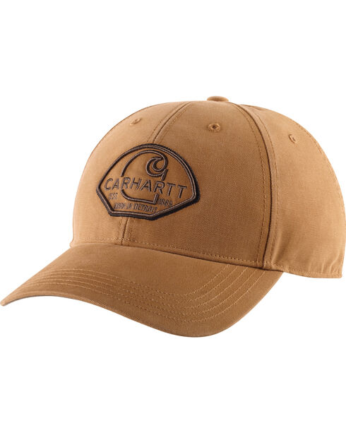 Carhartt Men's Moore Ball Cap, Brown, hi-res