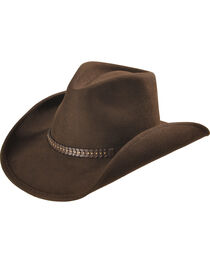 Cody James® Men's Felt Western Hat , , hi-res