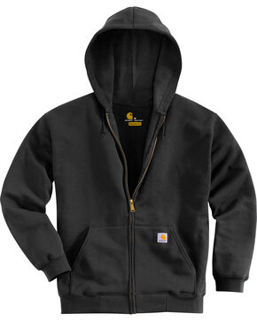 Carhartt Men's Midweight Hooded Zip-Front Sweatshirt, , hi-res