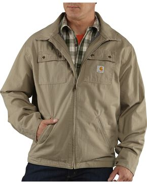 Carhartt Men's Flint Jacket, Desert, hi-res