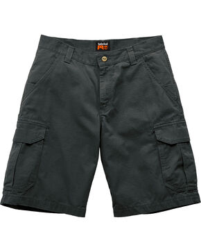 Timberland Men's Work Warrior Ripstop Utility Shorts, Jet Black, hi-res