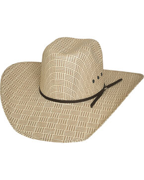 Bullhide Men's Cash Money 50X Straw Cowboy Hat, Natural, hi-res