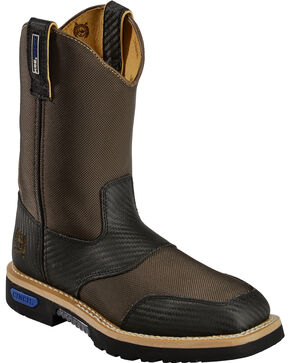 Cinch Men's WRX CT SafetyToe Work Boots, Brown, hi-res