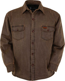 Outback Trading Co. Men's Brown Loxton Jacket , , hi-res