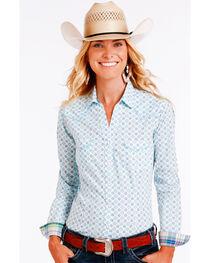 Rough Stock by Panhandle Women's Kaleidoscope Printed Long Sleeve Shirt, , hi-res