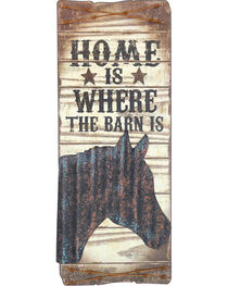 Gift Craft Home Is Where the Barn Is Wall Decor, , hi-res