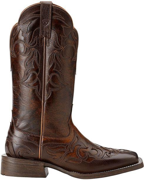 Ariat Women's Cassidy Western Boots, Mahogany, hi-res