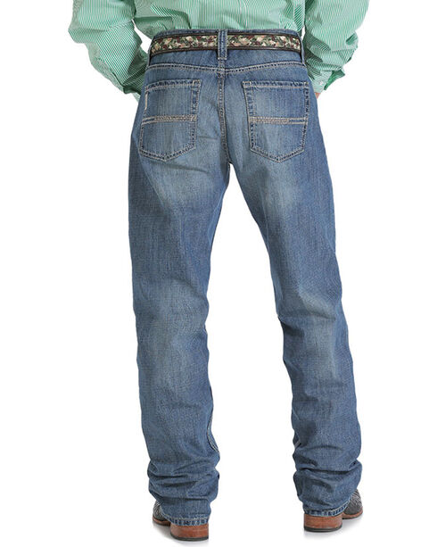 Cinch Men's Mid Rise Relaxed Fit Boot Cut Jeans, Indigo, hi-res