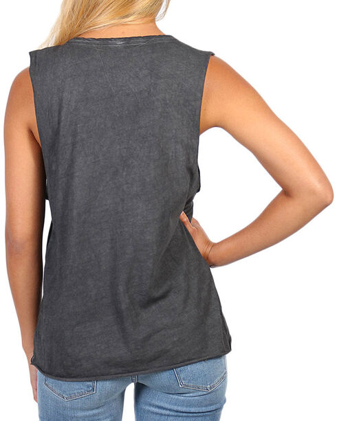 I.O.C. Women's Rock Royalty Graphic Muscle Tank, Black, hi-res
