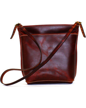 SouthLife Supply Women's Brick Cross Body Bag, Mahogany, hi-res