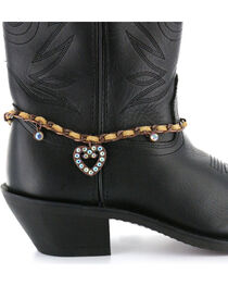 Shyanne® Women's Heart Boot Bracelet, , hi-res