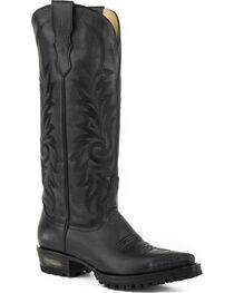 Stetson Women's Lucy Lug Sole Western Boots - Snip Toe, , hi-res