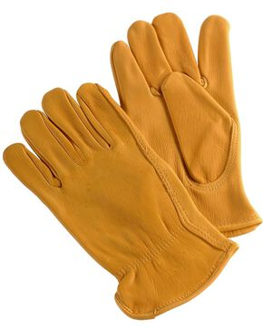 HD Xtreme Deerskin Gloves, Tan, hi-res
