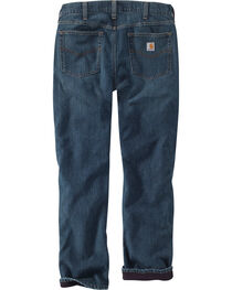 Carhartt Men's Fleece Lined Holter Jeans - Straight Leg , , hi-res