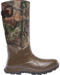 LaCrosse Men's Camo Aerohead Sport Snake Boots - Round Toe, , hi-res