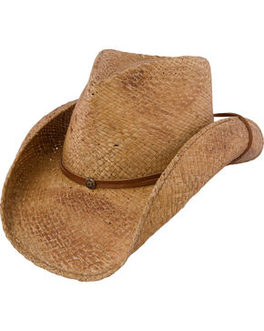 Charlie 1 Horse Women's Pacifico Straw Cowgirl Hat, Tea, hi-res