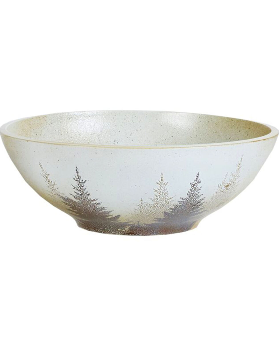 HiEnd Accents Clearwater Pines Serving Bowl, Brown, hi-res