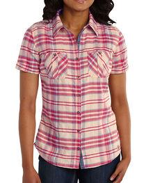 Carhartt Women's Brogan Shirt, , hi-res