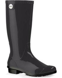 UGG Women's Black Shaye Boots - Round Toe , , hi-res