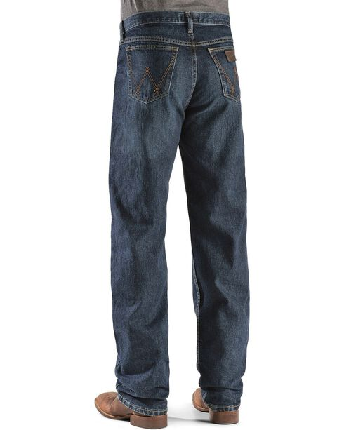 Wrangler 20X Men's Competition Jeans, Dark Blue, hi-res