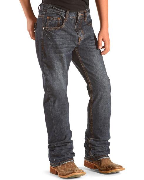 Silver Jeans Boys' Zane Boot Cut Jeans, Indigo, hi-res