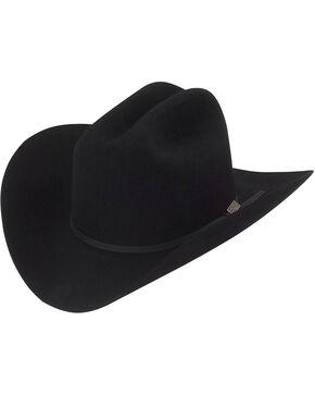 Larry Mahan 5X Ridgetop Fur Felt Cowboy Hat, Black, hi-res