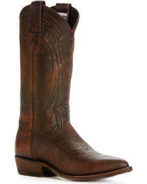 Frye Women's Billy Western Fashion Boots, Dark Brown, hi-res