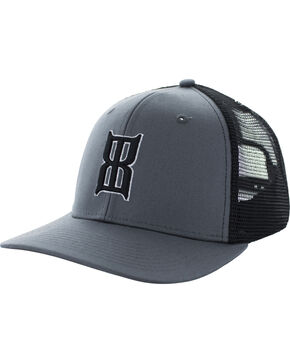 Bex Men's Charcoal Badlands Baseball Cap , Charcoal, hi-res