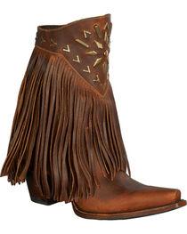 Lane Women's Fringe It Western Fashion Boots, , hi-res