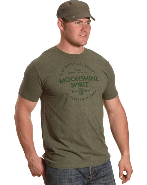 Moonshine Spirit Men's Barrel Aged T-Shirt, Green, hi-res
