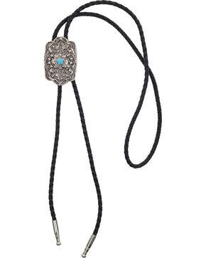 Cody James® Floral Design Bolo Tie, Silver, hi-res