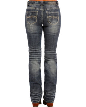 Rock & Roll Cowgirl Indigo Boyfriend Jeans - Boot Cut , Indigo, hi-res