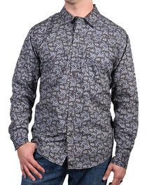 Cody James® Men's El Dorado Paisley Long Sleeve Shirt, , hi-res