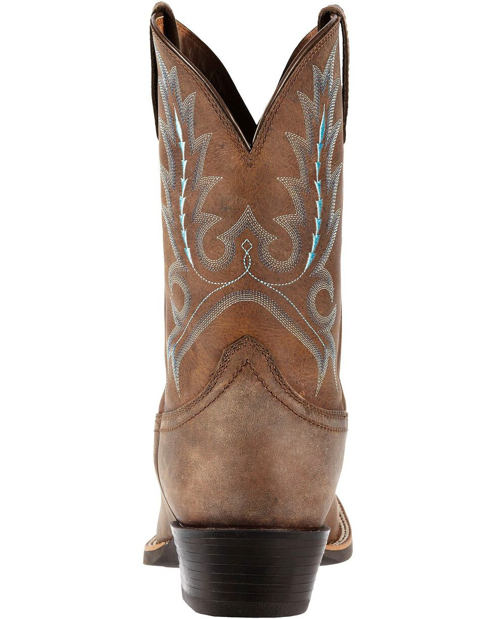 Ariat Men's Sport Outfitted Western Boots, Distressed, hi-res