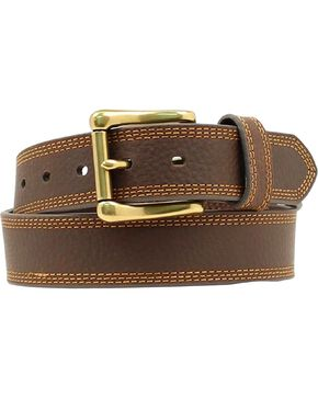 HDX Triple Stitched Belt, Brown, hi-res