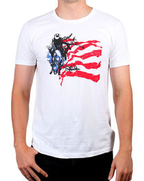 Cody James® Men's American Rodeo Rider Graphic Tee, , hi-res